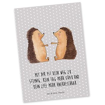 Mr. U0026 Mrs. Panda Postkarte Igel Liebe   Liebe, Verliebt, Verlobt,