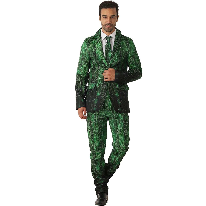 Amazon.com: EraSpooky Data Hacker - Traje para hombre: Clothing