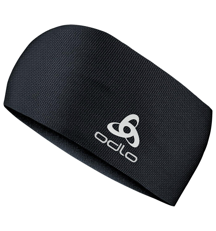 Black One Size Unisexs Move Light Headband オドロ odlo