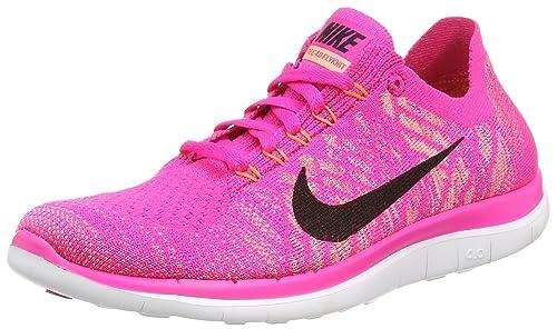 Nike Mujer Wmns Free 4.0 Flyknit Zapatillas para Correr Size: 43: Amazon.es: Zapatos y complementos