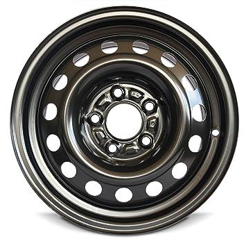 Hyundai Elantra, Kia Forte 15 pulgadas llanta de acero poste de 5/15 x 6 5 x 114.3 acero rueda: Amazon.es: Coche y moto