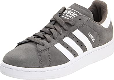 175cfad7d6ed Adidas Campus II Grey White Suede Mens Trainers Size 7 UK  Amazon.co ...