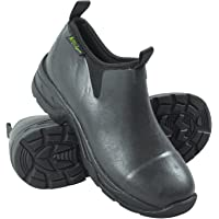 Michigan Chaussures à enfiler - hauteur cheville/en néoprène - pour l'écurie/la boue/le jardin/la saleté