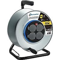 Electraline 94012, Carcasa Enrollacables profesional sin cables
