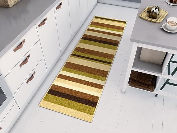 Carpet Runner Rug/ /Robust and Insensitive Bermuda Grey 90/cm Polypropylene 90 x 100 cm grey