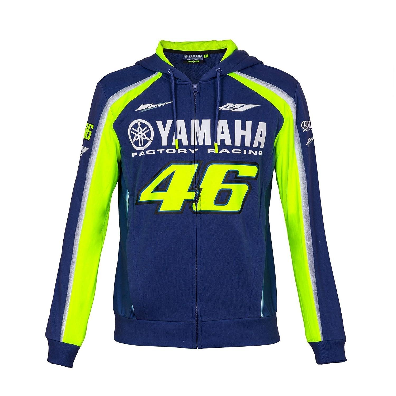 2018 VR46 Dise/ño de Valentino Rossi #46 Sudadera con Capucha y Capucha para Motocicleta