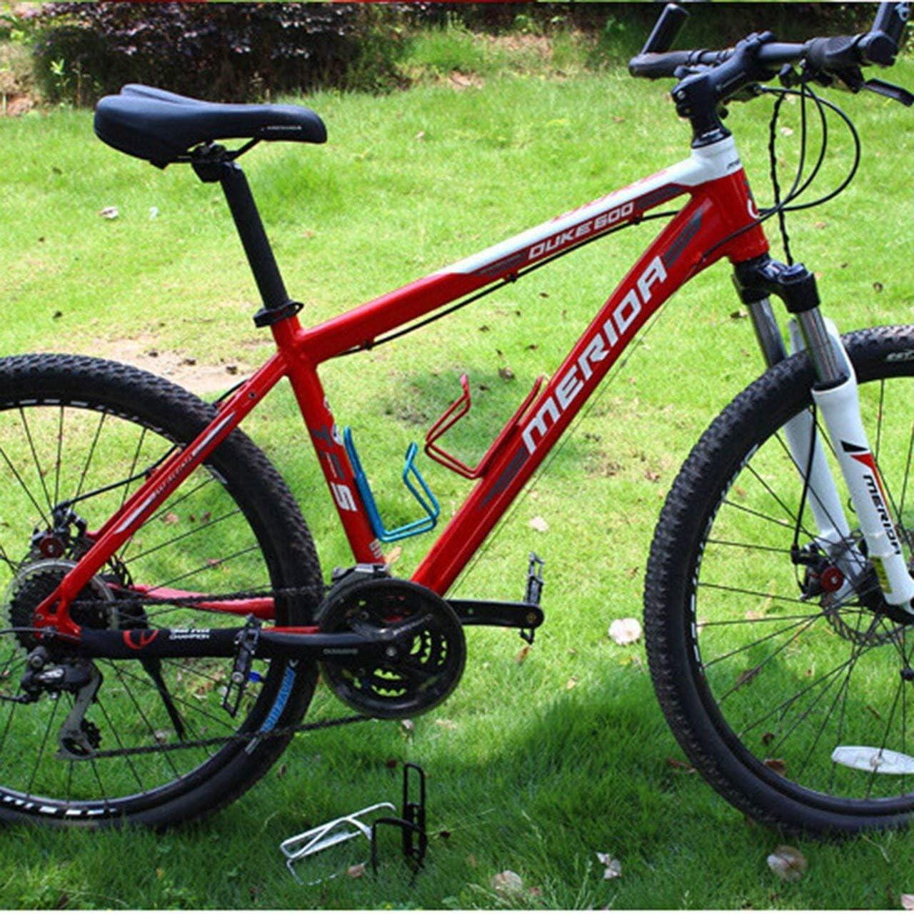 Formulaone Ultra Leggero in Lega di Alluminio Portaborraccia per Bicicletta Gabbia MTB Bici da Strada Bottiglie per Bevande Supporto per Rack Accessori per Ciclismo-Blu