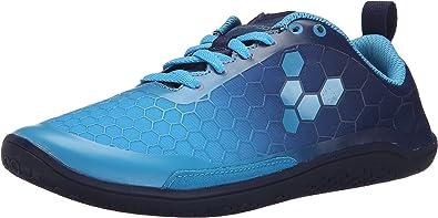 Vivo Barefoot - Zapatillas de Running para Mujer Azul: Amazon.es ...