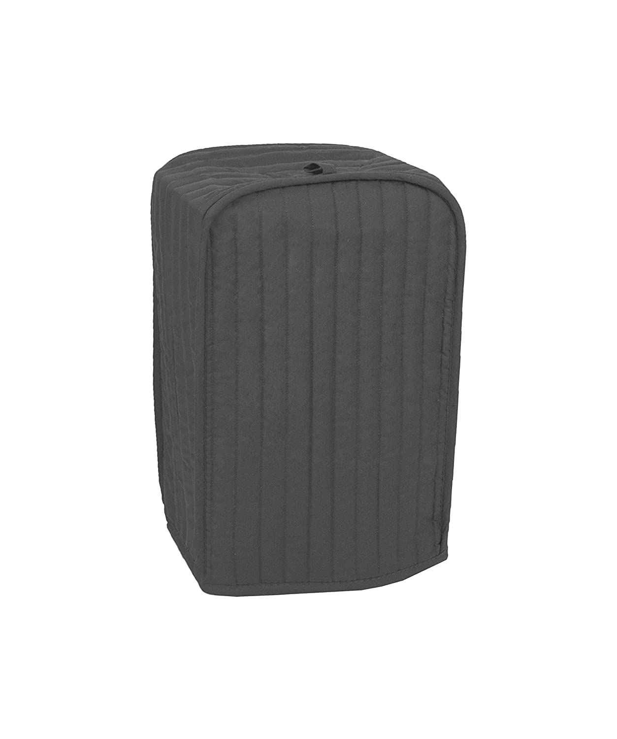 RITZ Polyester / Cotton Quilted Stand Mixer or Coffee Maker Appliance Cover, Dust and Fingerprint Protection, Machine Washable, Graphite Grey