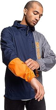 Hombre Corta-Viento Resistente Al Agua Con Capucha Para Hombre Corta-Viento Resistente Al Agua Con Capucha DC Shoes Dagup Triple Block