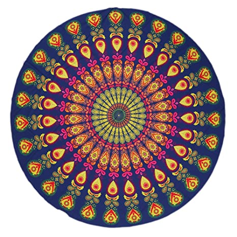 elchom redondo indio Mandala tapiz boho toalla de playa ...