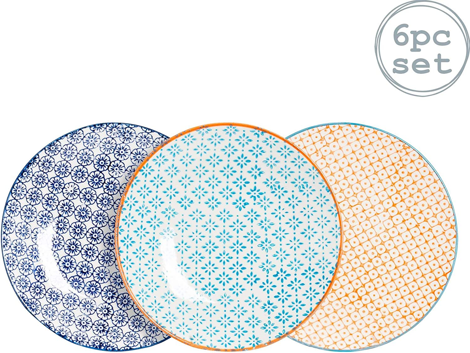 Small Patterned Plates