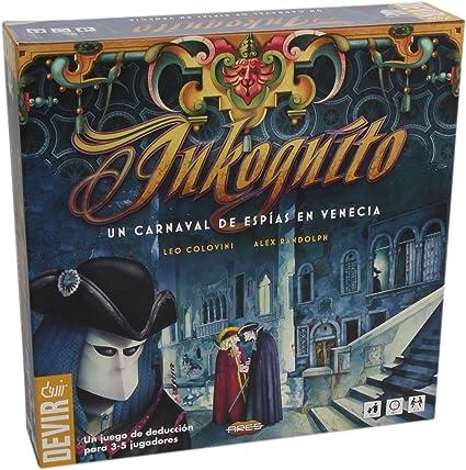 Devir- Juego de Mesa Inkognito, única (BGINKO): Amazon.es: Juguetes y juegos