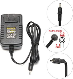 Qiouzw 12V AC/DC Adapter Wall Charger Home Power for Acer Iconia Tab Tablet A100 A101 A200 A210 A500 A501;W3 W3-810;Lenovo Miix 2 10 11 Tablet PC Tab;Ak.018ap.027 Lc.adt0a.024 Power Supply Cord