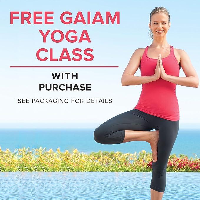 gaiam - Esterilla Plegable para Yoga, 2 mm, Azul: Amazon.es ...