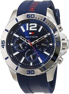 2fc81d550404 Tommy Hilfiger Reloj Multiesfera para Hombre de Cuarzo con Correa en ...