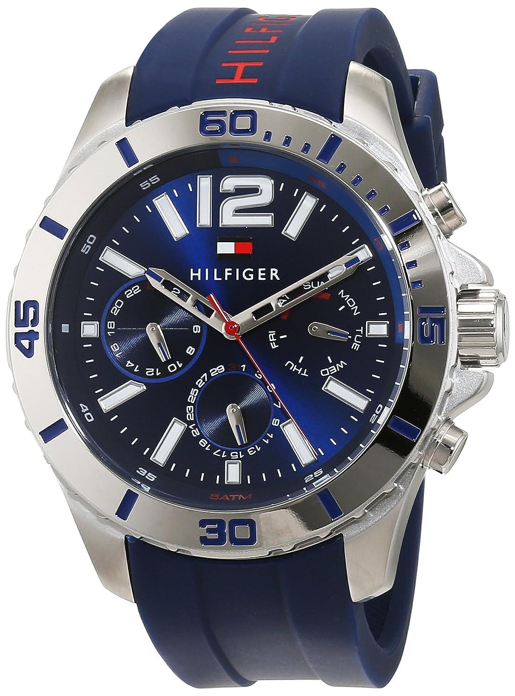 Reloj de Pulsera para Hombre Tommy Hilfiger, analógico, de Cuarzo y Silicona 1791142