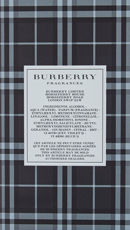 Burberry Brit For Men Vaporizador Agua de Colonia - 30 ml: Amazon.es: Belleza
