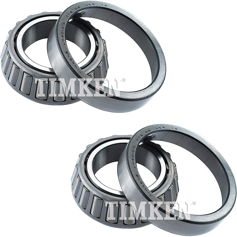 Pair Set Of 2 Front Outer Timken Wheel Bearings for Mazda B2000 B2200 B2600 RWD