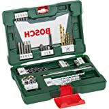 Bosch 48 Piece Drill Bit and Screwdriver Bit Accessory V-Line Set with Magnetic Rod