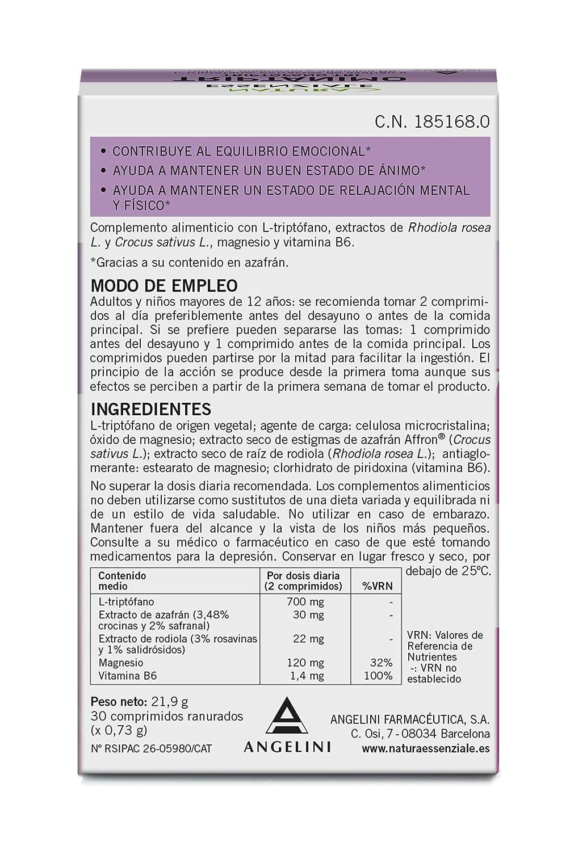 Natura Essenziale Triptánimo - 30 Comprimidos: Amazon.es: Salud y cuidado personal
