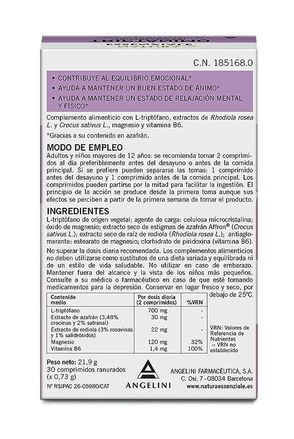TRIPTOFANO TRI ANGELINI 30 COMPRIMIDOS: Amazon.es: Salud y cuidado personal