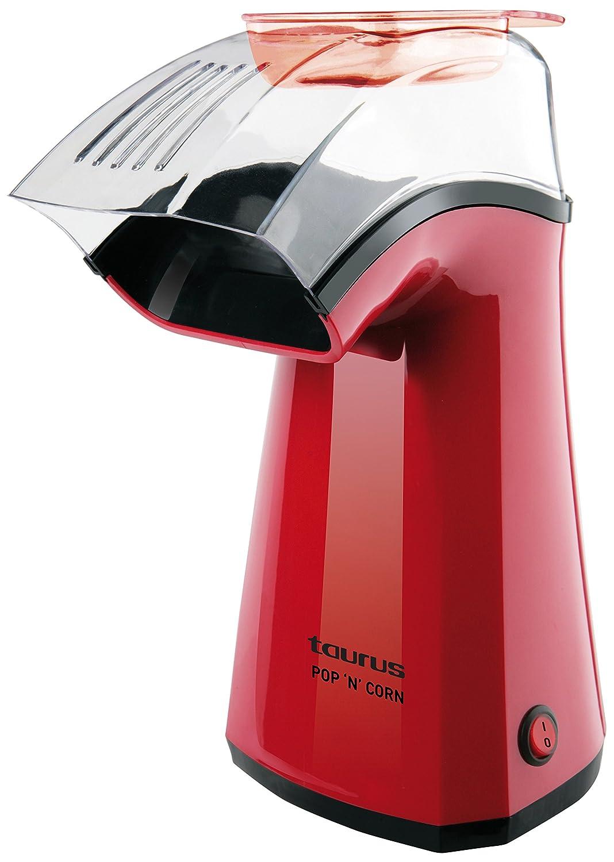 Taurus Pop'N'Corn - Maquina para hacer palomitas, 1100 W