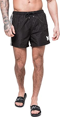 a03207352f Good For Nothing Racer Swim Shorts - Various Colours: Amazon.co.uk ...