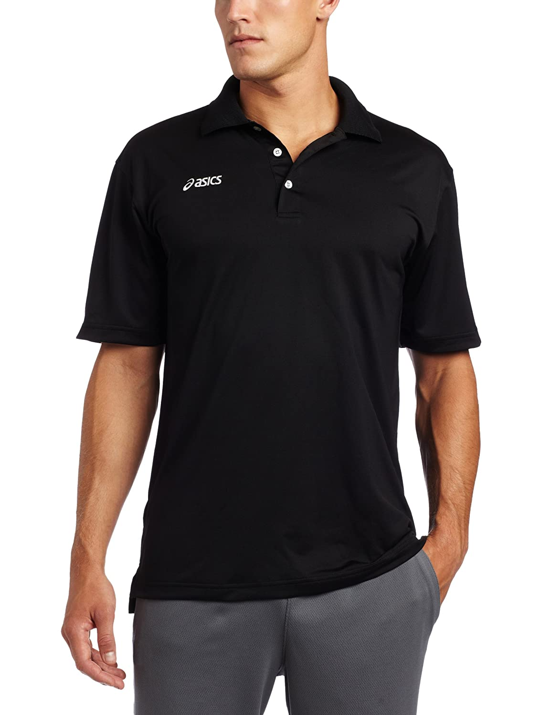 Asics Herren Offizielles Poloshirt, Herren, schwarz, Small