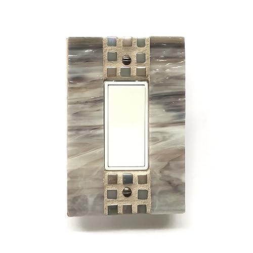 Amazoncom Mosaic Switch Plate Decorative Switch Plates Light
