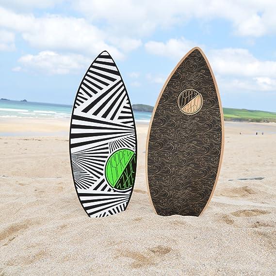 Osprey Surf Unisex zigzag tabla de skimboard, color negro, 41-Inch: Amazon.es: Deportes y aire libre