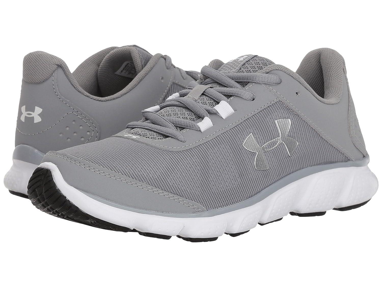 【有名人芸能人】 [アンダーアーマー] レディースランニングシューズスニーカー靴 UA Micro G Assert 7 [並行輸入品] B07L6XDLQ4 Steel/White/Metallic Silver 26.5 cm B 26.5 cm B|Steel/White/Metallic Silver, フジチョウ ecd21402