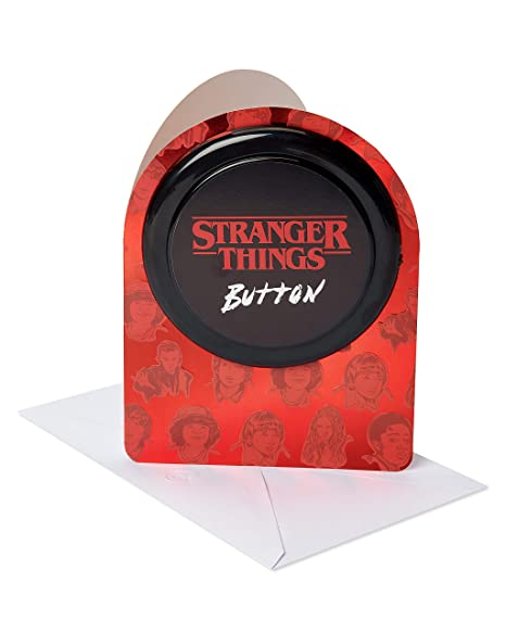 Amazon.com: American Greetings Stranger Things Button ...