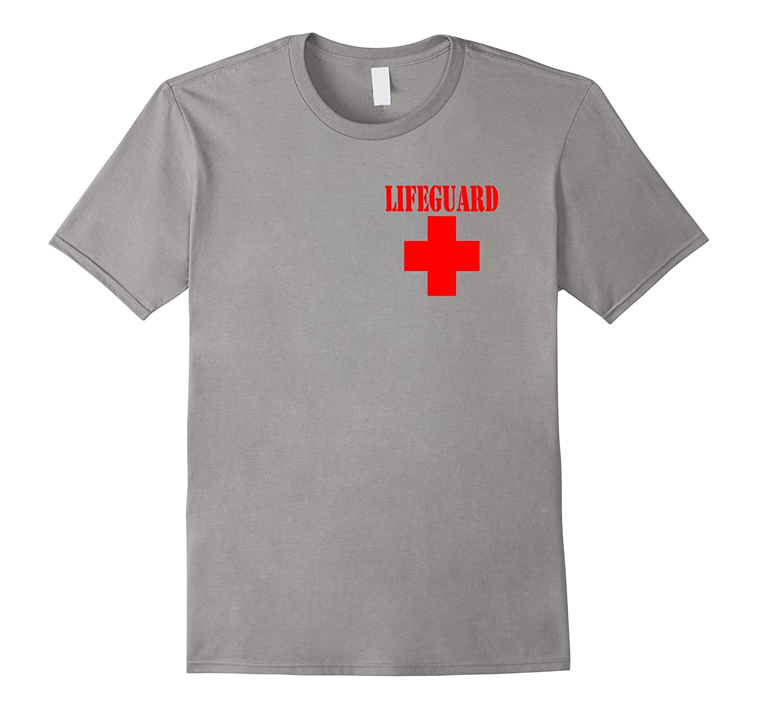 Lifeguard T-shirt front and back-TD