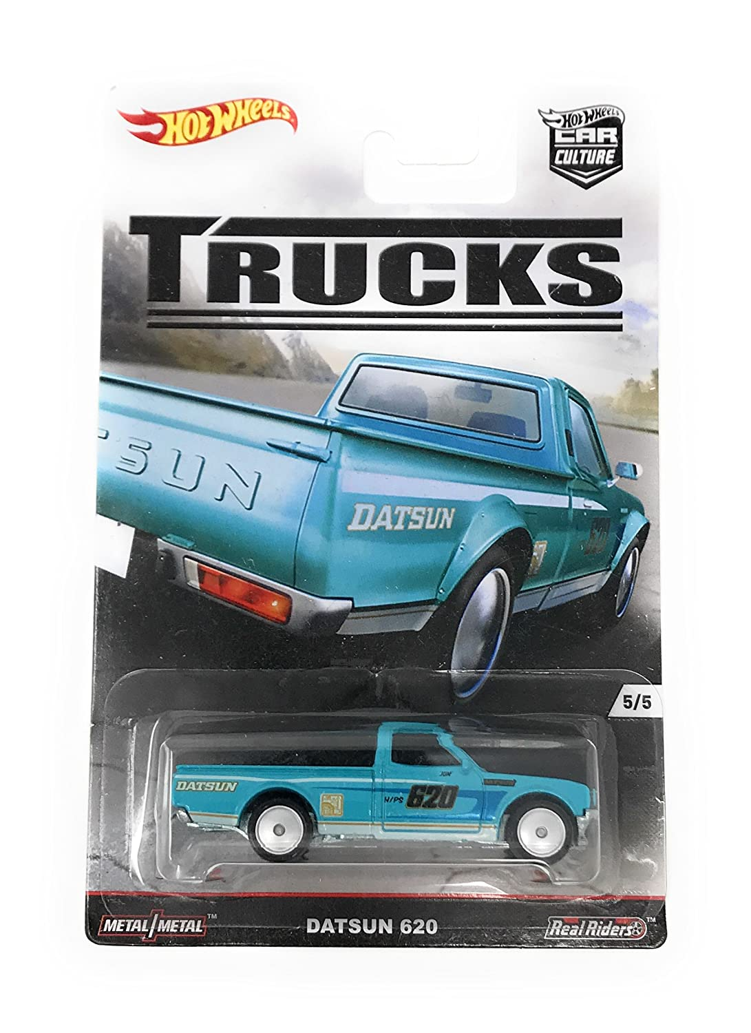 76 datsun pickups for sale the datsun 620 is one of the most beautiful - Amazon Com Hot Wheels Car Culture Trucks Datsun 620 Pickup 5 5 Teal Toys Games