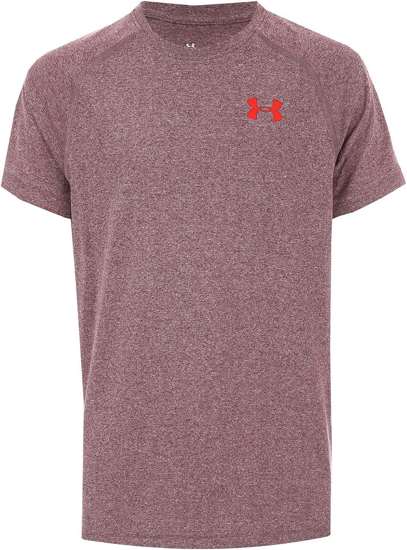 Under Armour Tech Junior Boys Training Top Short Sleeve Sports T-Shirt Youths