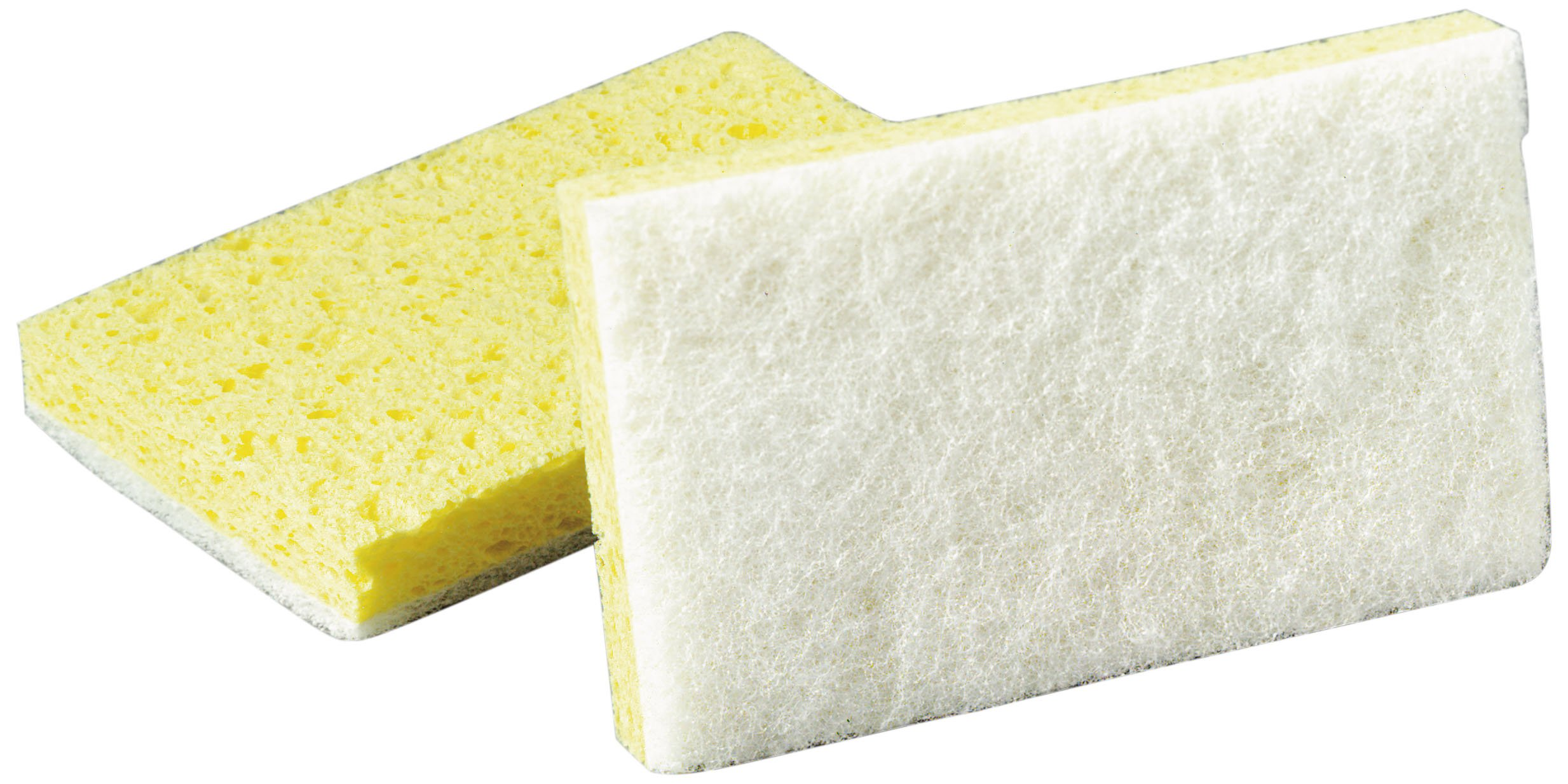 Scotch-Brite 63 Light Duty Scrub Sponge, 6-3/32'' Length x 3-19/32'' Width x 11/16'' Thick (Case of 20)