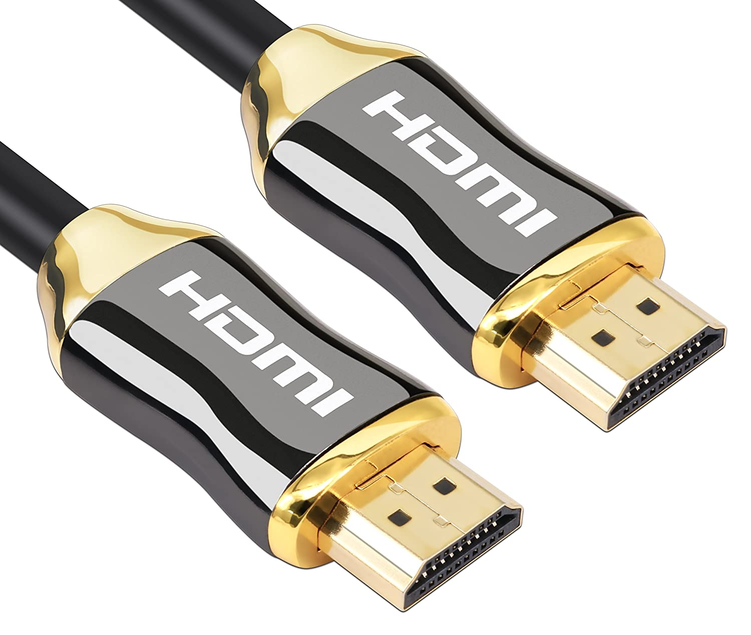 Amazon.com: KIN&P HDMI Cable 3ft Ultra High Speed HDMI 2.0 (4K) HDMI cables for PlayStation PS3 PS4 PC Apple TV, Support 2160P,HD 1080P, 3D,4k,Ethernet ...