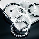 "Lokai Marble Bracelet, Black, 6"" - Small"