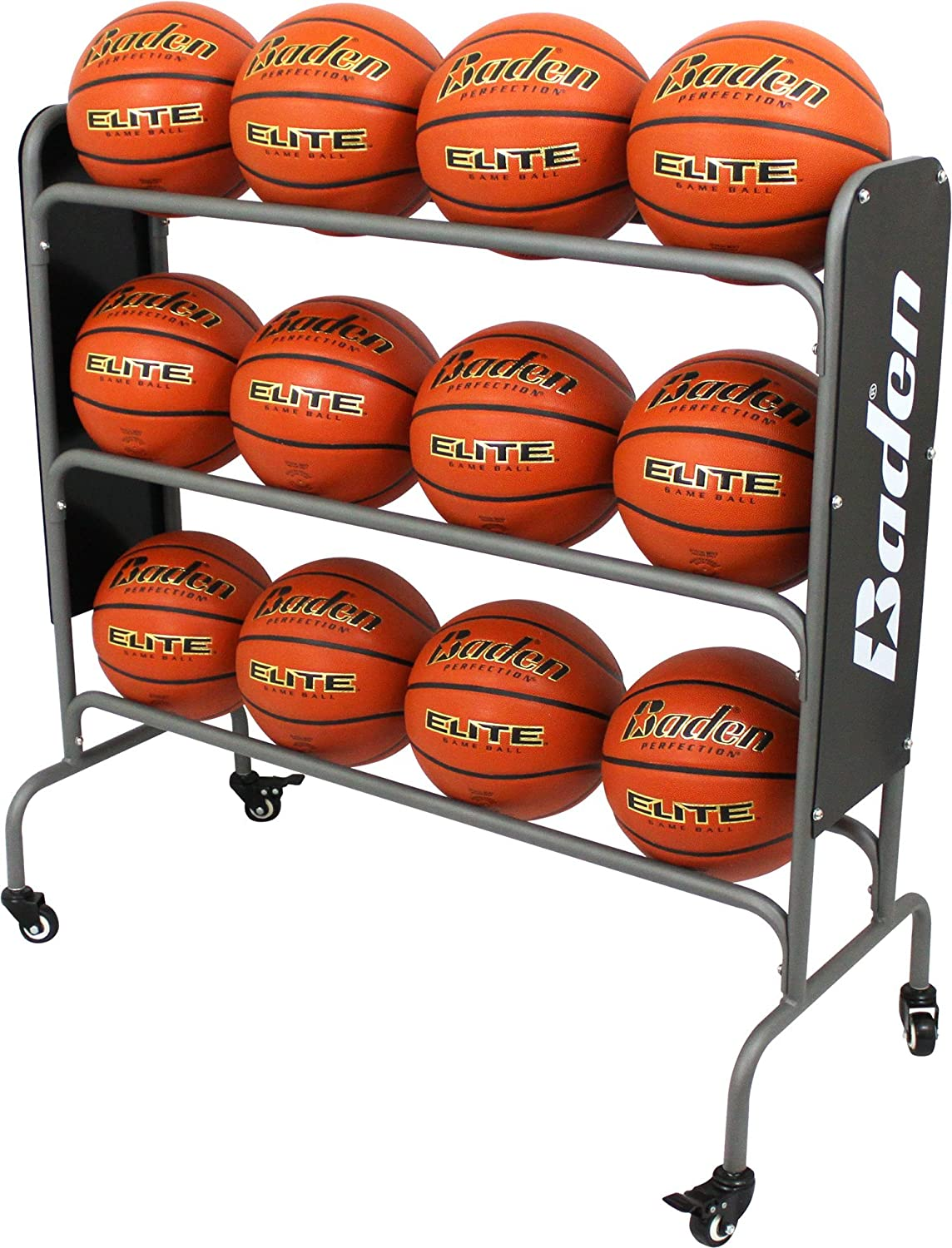 Steel Basketball Rack (12-Balls)