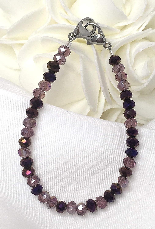 MA077 Medical ID Alert Replacement Bracelet! Pretty in Purple