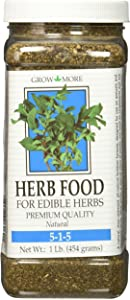 Grow More 6060 Herb Food 5-1-5, 1-Pound