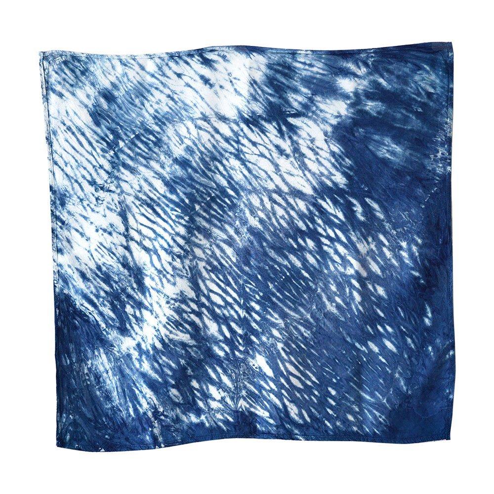 Amaret Thai Handkerchief Indigo Tie Dye product from Northern of Thailand [Hand Made]