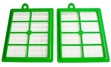 1-2 Hepa Filter Hygiene Filter passend für Philips Vision Excel