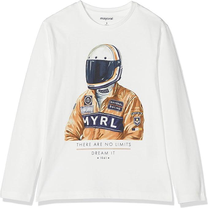 Mayoral Camiseta de Manga Larga para Ni/ños