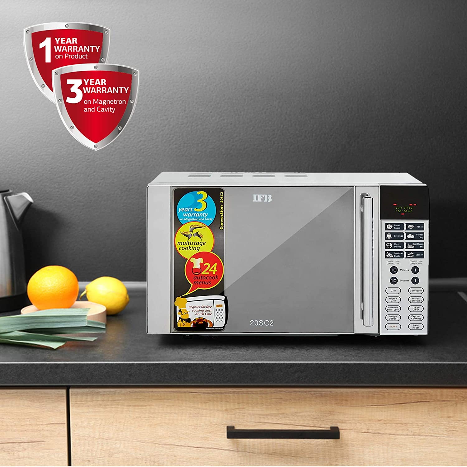 IFB 20 L best microwave ovens under 8000