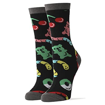 Oooh Yeah Socks ! - Womens Crew - Gummies,One size fits most