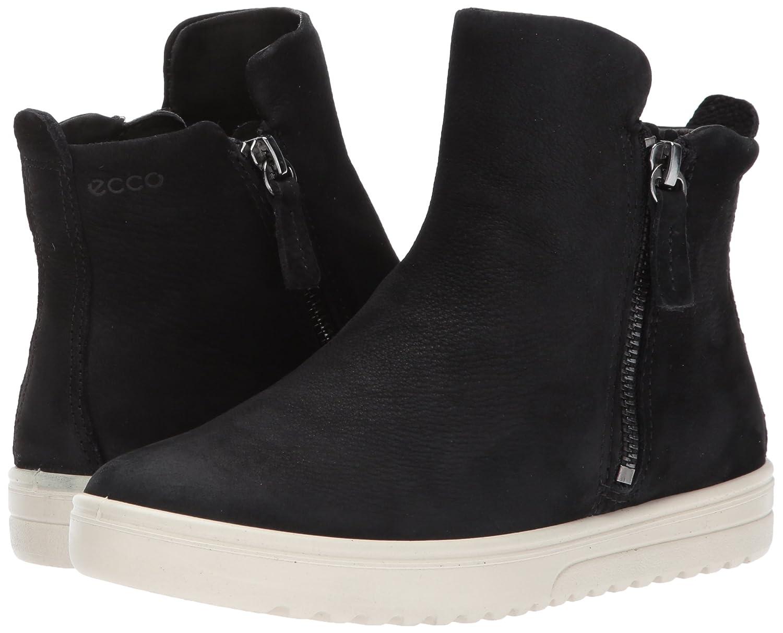 ECCO Women's Fara Zip Bootie Fashion Sneaker B01N4SME1O 40 EU / 9-9.5 US|Black Nubuck