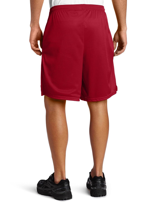 f9e7982cf655d Champion Men s Long Mesh Short with Pockets at Amazon Men s Clothing store