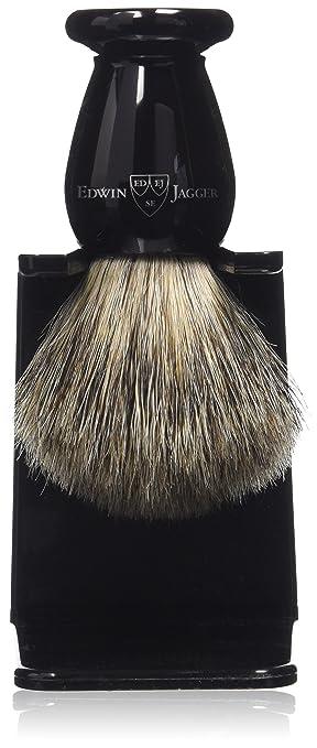 87 opinioni per Edwin Jagger- Pennello da barba con setole di puro tasso, manico imitazione
